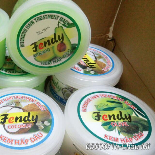 Kem hấp dầu Dừa Fendy cao cấp chính hãng 500g