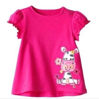 Áo phông bé gái - áo phông cotton cộc tay.