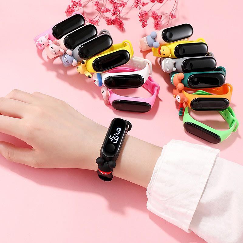 Đồng hồ Pohanu bé trai Led điện tử thông minh DH109