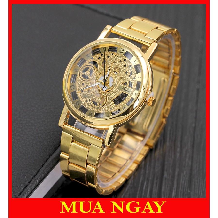 Đồng hồ cơ nam đeo tay cao cấp dây kim loại Modiya cực hot DH102