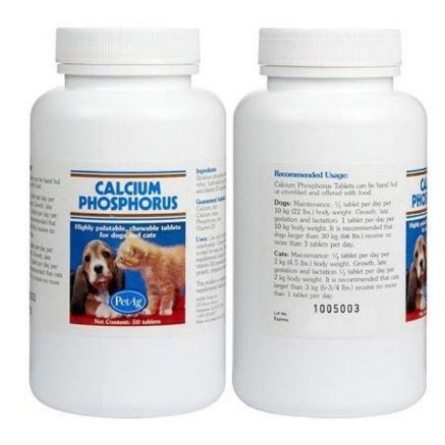 Viên Calcium phosphorus cho chó mèo