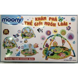 Thảm chơi cho bé Winfun quà tặng Moony