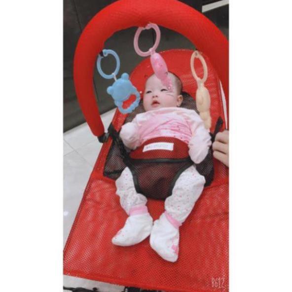 Ghế nhún cho bé, ghế rung cho bé Tặng thanh treo đồ chơi MBPHUNG100