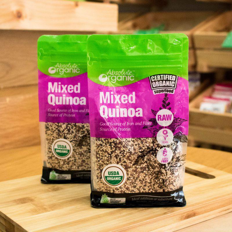 Hạt Diêm Mạch Hữu Cơ Úc Mixed Quinoa 400g | Shopee Việt Nam