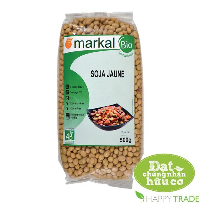Hạt đậu nành hữu cơ Markal 500g