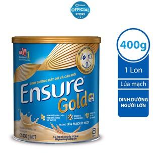 Sữa Glucerna Hương Lúa Mạch Dành Cho Người Tiểu Đường 850g/lon