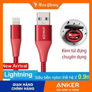 Dây Cáp Sạc ANKER Powerline+ II A8452 Lightning Dài 0.9m Cho iPhone iPad - Hàng Chính Hãng thumbnail