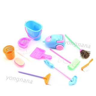 ★TOY♣ Set of 9Pcs Home Furniture Cleaner Furnishing Kit For Doll House Cleaning