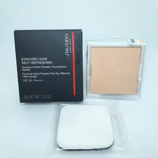 Lõi phấn nền dạng nén Shiseido Synchro Skin Self -Refreshing Custom Finish Powder Foundation 160 Shell thumbnail