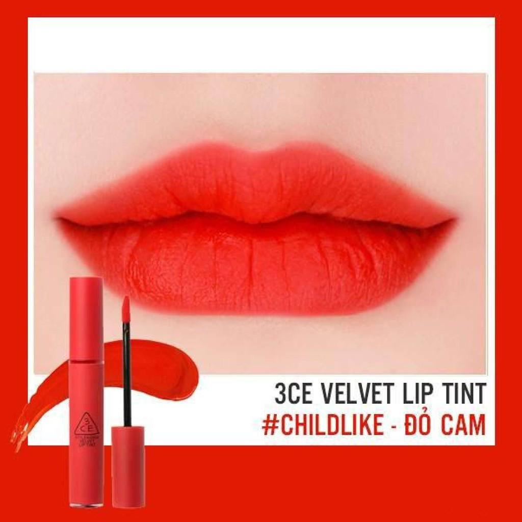 Kết quả hình ảnh cho son 3ce velvet lip tint childlike