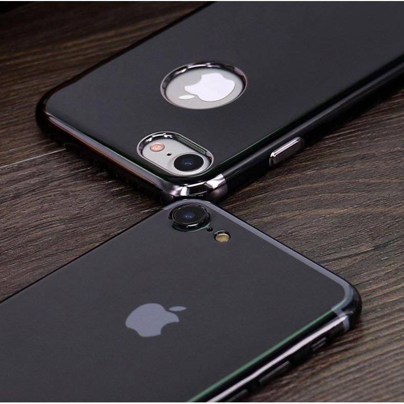 ? Combo 2 Ốp lưng dẻo JET BLACK Iphone 6, 6S