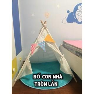 Lều vải cho bé chơi vui ấm áp qua mùa đông không lạnh – Lều Vải Cổ Tích – Lều Rustic – Lều Chụp Ảnh