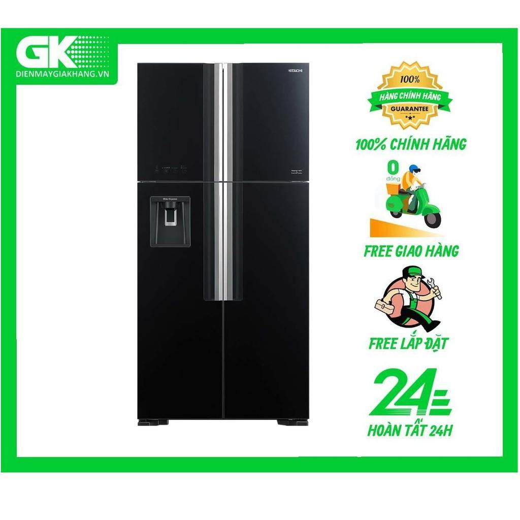FW690PGV7 GBK - Tủ lạnh Hitachi Inverter 540 lít R-FW690PGV