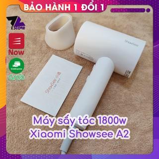 Máy sấy tóc mini Xiaomi Showsee A2 - Công suất lớn 1800w - chống rối tóc - độ ồn thấp thumbnail