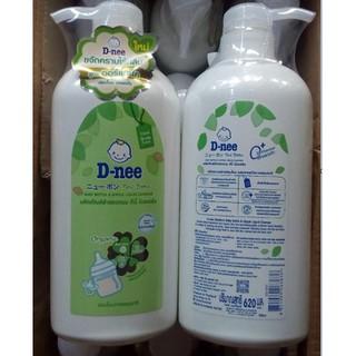 Nước rửa bình Dnee Chai 620ml Mẩu mới thumbnail