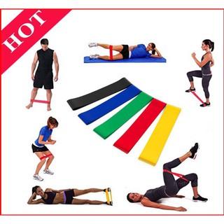 Dây mini band, dây kháng lực miniband tập gym, cao su tập mông, đùi, chân