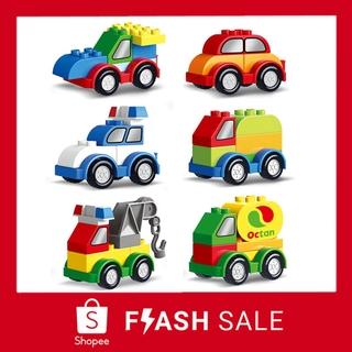 Bô đô chơi mô hi nh xe Lego đô c đa o cho be làm quà sinh nhật Lego Duplo thumbnail