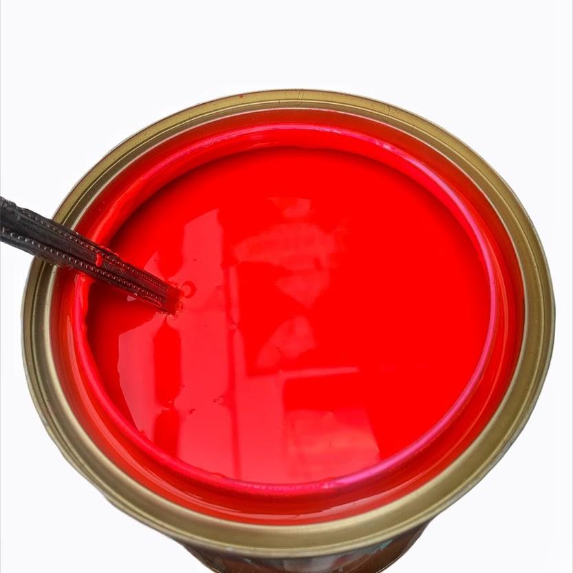50g Sơn Luminous màu Hồng Cánh Sen dạ quang dưới đèn UV (LMN-01)
