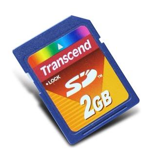 Thẻ nhớ SD 2GB hiệu Transcend cho máy in 3D và máy ảnh cũ
