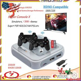 Máy Chơi Game Super Console X Tích Hợp 30000+ Games PSP PS1 N64 Dreamcast... thumbnail