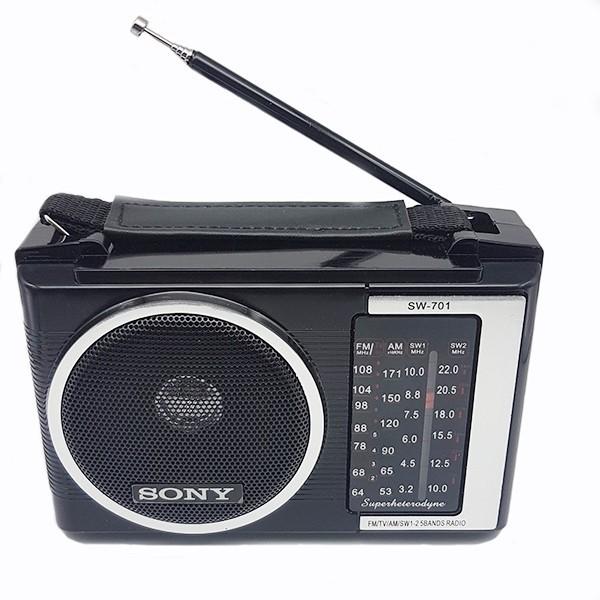Đài radio Sony SW 701 TẶNG PIN VÀ DÂY CẮM ĐIỆN