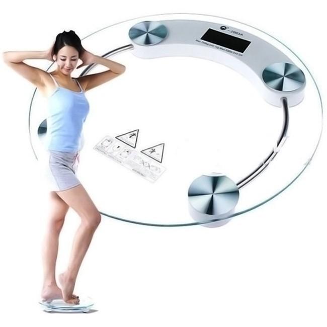 [ XẢ KHO 3 NGÀY ] Cân sức khỏe điện tử max 180kg  (Trong suốt)