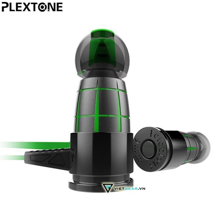 [Mã ELSRTET giảm 6% đơn 400K] Tai nghe Plextone G25 có micro, vỏ thép không rỉ, có micro