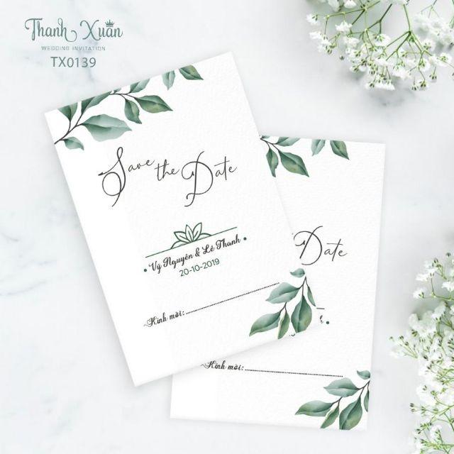 Combo 100 thiệp thiết kế độc quyền của thiệp cưới Thanh Xuân ...