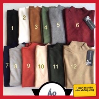 Áo len nam cổ cao các màu Áo nam Việt Hà Nội shop