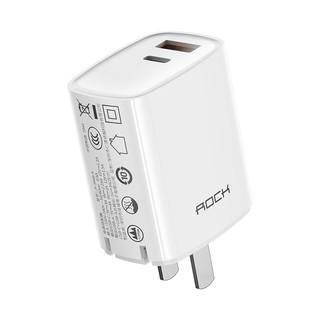 Củ sạc nhanh iPhone Rockspace T42, 2 cổng USB-TypeC sạc nhanh 18w, 20W, ổn định, không nóng máy, nhỏ gọn, hàngchính hãng thumbnail