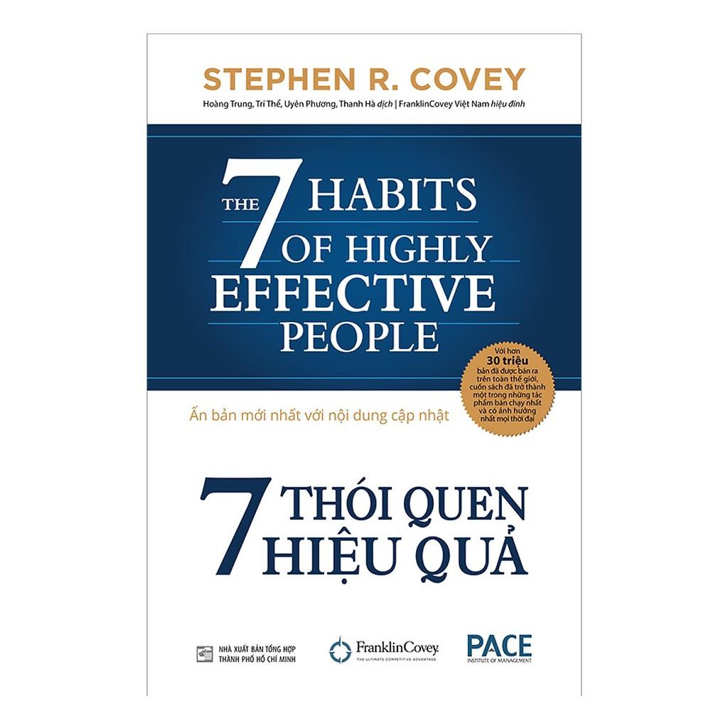 Sách - 7 thói quen hiệu quả(Tái Bản 2019 bìa cứng )