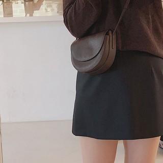 Túi xách nữ đeo chéo ♥ Túi đeo chéo nữ mini đẹp da retro bán nguyệt giá rẻ X27