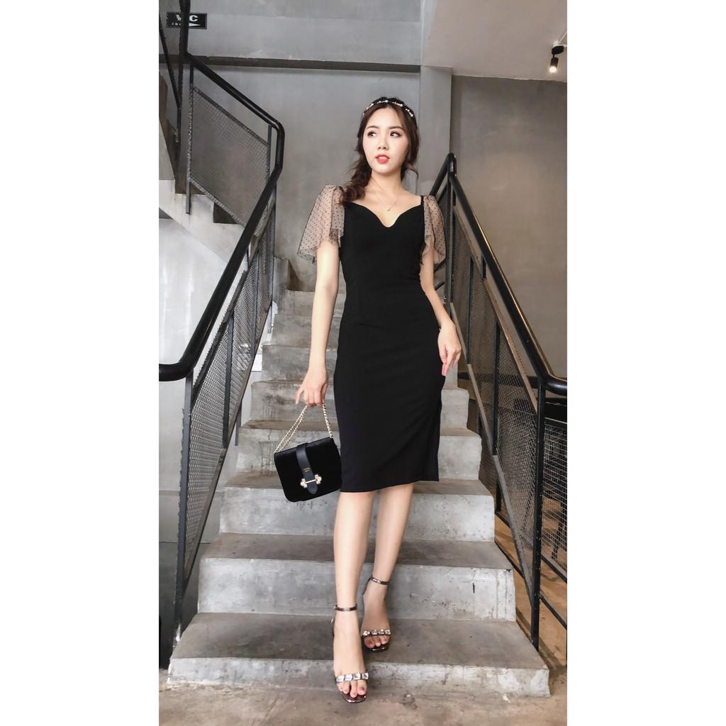 Đầm coco black (3090)