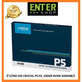 Ổ Cứng SSD Crucial 500gb ,Dòng P.2 – P.5 NVME 3400mb/s