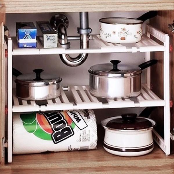Kệ gầm bếp 2 tầng tiện dụng ( như ảnh)