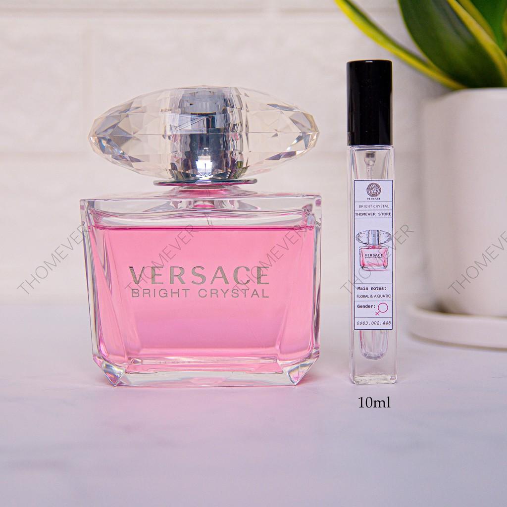 [GIÁ SỐC] Nước hoa Versace Bright Crystal & Versace Bright Crystal Absolu | CHUẨN AUTHENTIC 100% [Mẫu Thử]