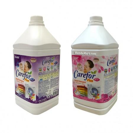 Nước giặt xả quần áo đậm đặc CareFor 3500ml 6 in 1