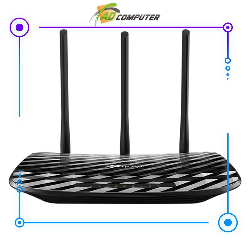 Bộ phát Wifi Băng Tần Kép TP-Link Archer C20 Gigabit AC750 – Chính thức PP Giá chỉ 1.000.000₫