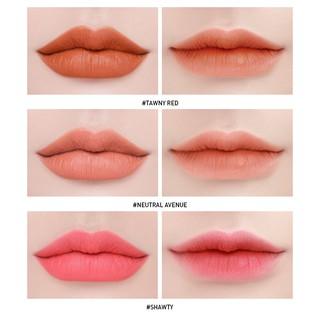 Hình ảnh Son Kem Lì 3CE Soft Lip Lacquer Mềm Mịn 6g-3
