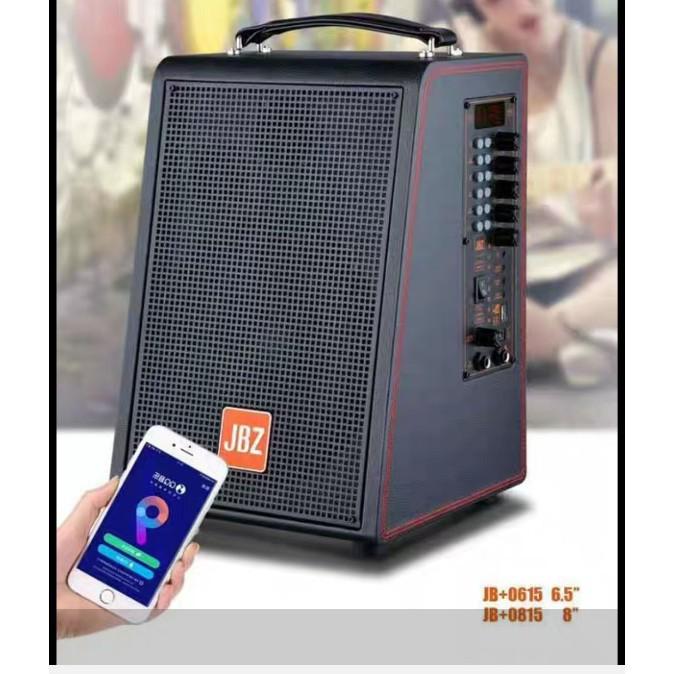 "Loa JBZ 0615 / 0816 / 0815 / 0616 ""loa kéo mini"" tích hợp karaoke livestream thu âm bass trầm cực hay"