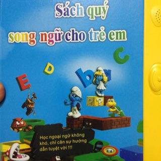 Sách điện tử song ngữ Anh Việt cho bé, sách điện tử thông minh nói tiếng anh, giúp bé nhận biết con vật, đồ vật