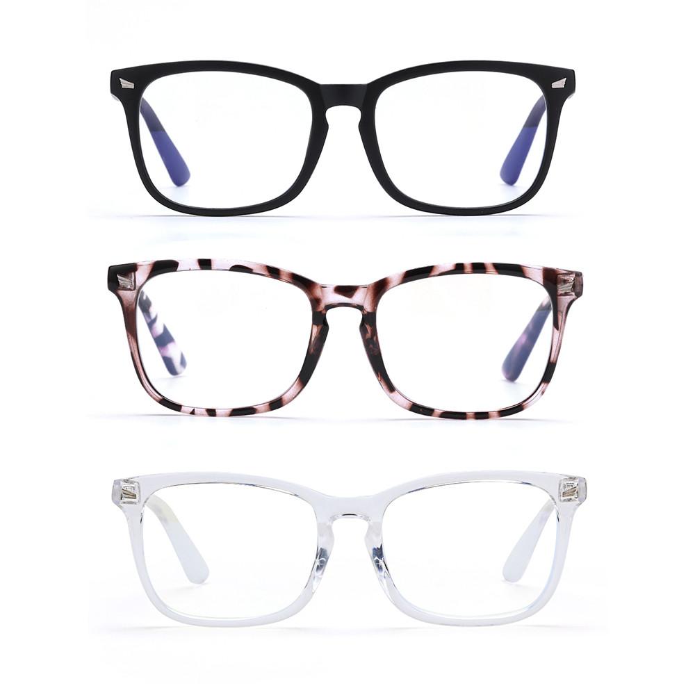 ROSE Flexible Blue Light Blocking Glasses Anti Glare Video Gaming Glasses Office Computer Glasses Goggles Anti Blue Light Unisex Anti...