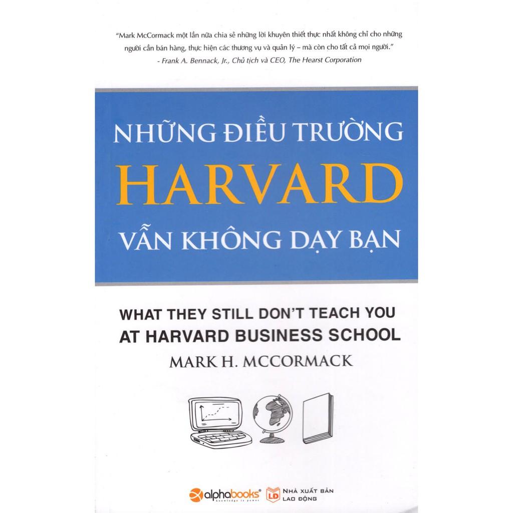 Sách - Những Điều Trường Harvard Không Dạy Bạn