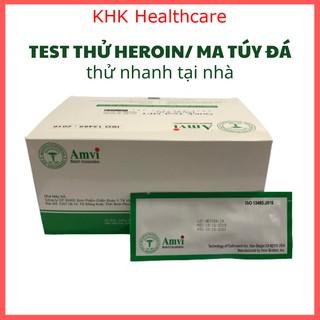 Que test Heroin Ma túy đá hiệu Amvi thử nhanh tại nhà thumbnail