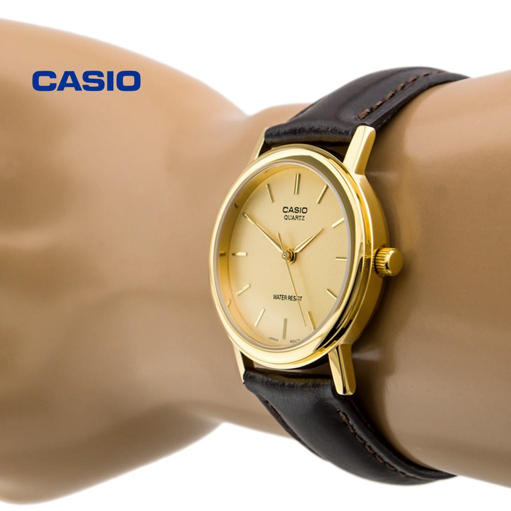 Đồng hồ nam CASIO MTP-1095Q-9A chính hãng - Bảo hành 1 năm, Thay pin miễn phí
