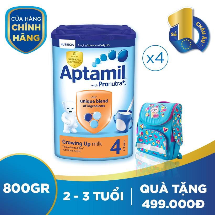 [Nhập ATPA1040K -40K đơn999K] Bộ 4 hộp sữa dinh dưỡng...