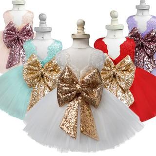 Đầm Xòe Công Chúa Phối Ren Xinh Xắn Cho Bé Gái 1-5 Tuổi