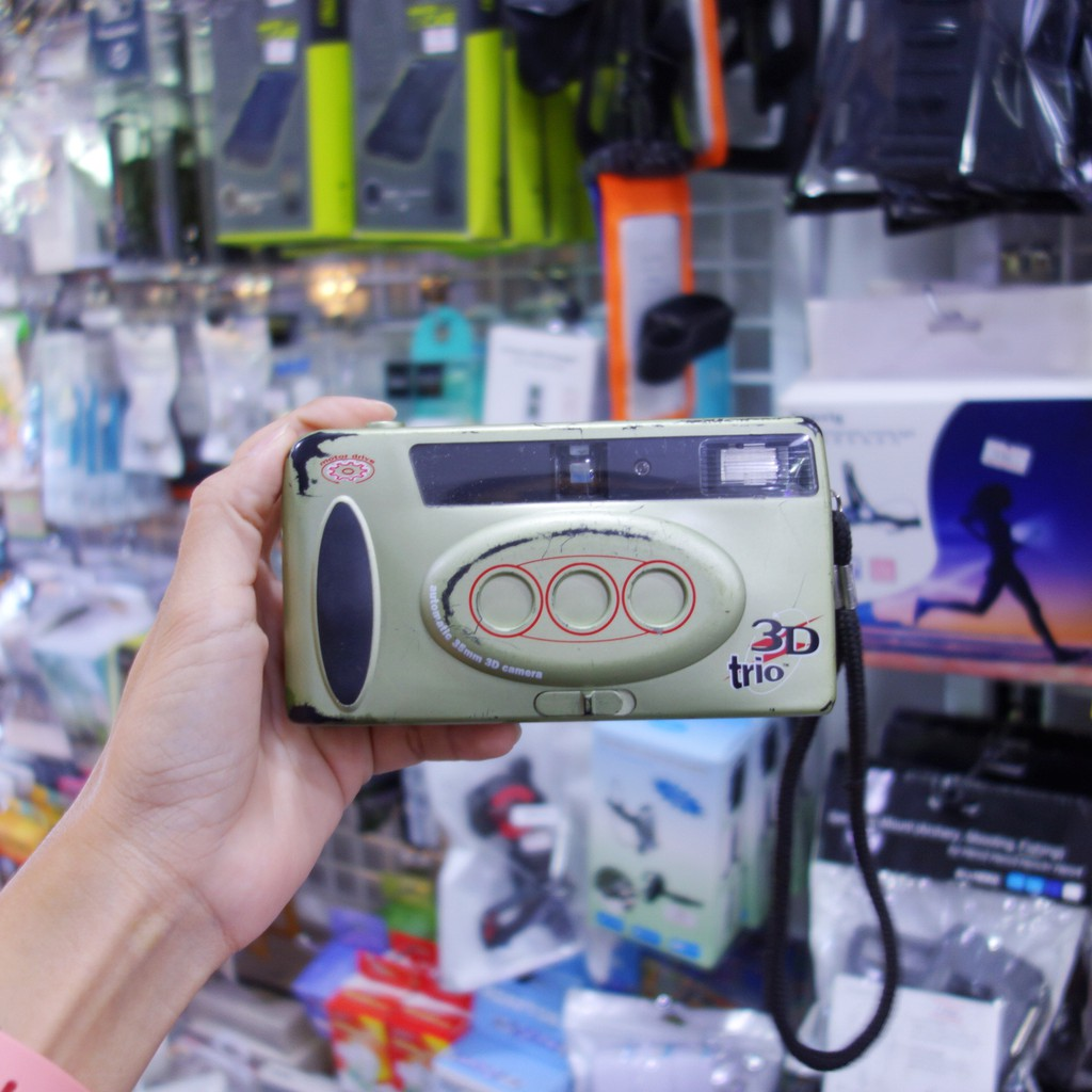 ImageTech 3D TRIO กล้อง3มิติ เน้นใช้งานไม่เน่นโชว์ 3มิติ