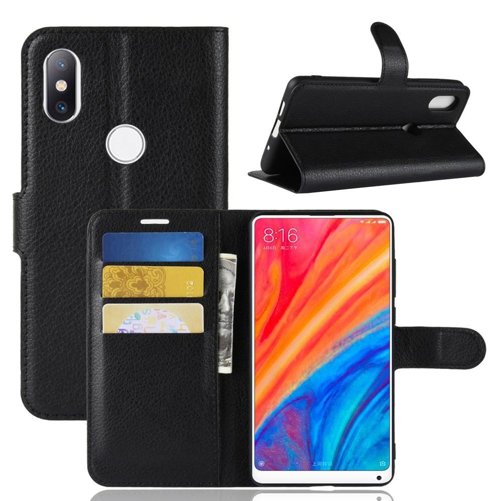 Bao da PU kiểu dáng đơn giản tiện dụng dành cho điện thoại Xiaomi Mi Mix 2S Mi2S