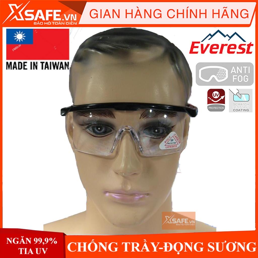 Kính bảo hộ Everest EV105 Kính chống bụi, chống tia UV, chống trầy xước, đọng sương, bảo vệ mắt khi đi xe, lao động